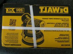 """Dewalt DCW210B 20V Max XR Brushless 5"""" Random Orbital Sand"""