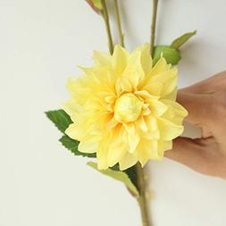 MSOO Decoration Garden Wedding Single Silk Flowers Craft Cen