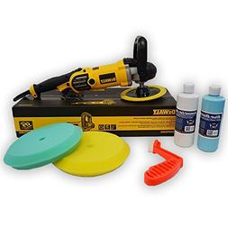 DeWalt DWP849X Alt Buffer Buff 'N Glaze Value Package