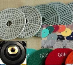 "6"" 6 Inch / 150mm Diamond Damo Polishing Pad 25 Pieces Rubbe"