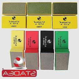Stadea HPW109K Diamond Hand Polishing Pads - Marble Glass Co