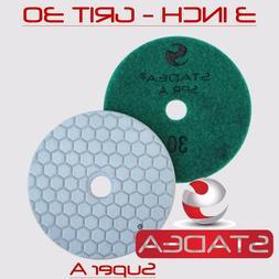 "Stadea Diamond Polishing Pad Dry 3"" - Concrete Granite Stone"