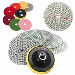 diamond polishing pads 4 inch wet dry