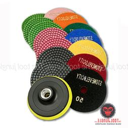 Diamond Polishing Pads 4 inch wet/dry Granite Marble Concret