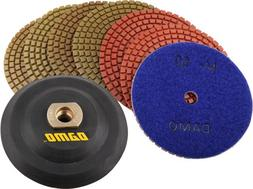 DAMO Semi-Rigid Flexible Back Holder/Backer Pads for Diamond