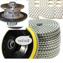 "3/8"" Diamond Full Shaping Bullnose Router Bit profile grindi"
