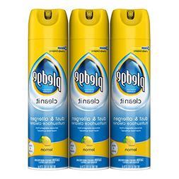 Pledge Dust & Allergen Multisurface Cleaner, Lemon, 9.7 oz,