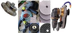 ECOEDGE & Wet Variable Speed Polisher Polishing Pad Glazing