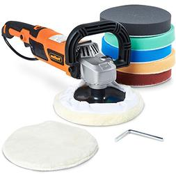"VonHaus 10-Amp Electric 7"" Polisher/Buffer/Finishing Machi"