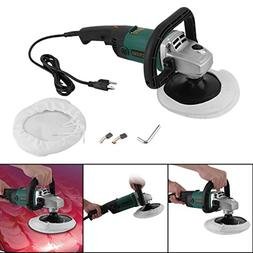 7inch 1600 Watts Electric Car Polisher 6 Variable Speed Buff
