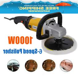 7 Inch 6-Speed Electric Car Polisher Auto Polishing Machine