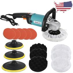"7"" Variable Speed Dual-Action Polisher Random Orbital Polish"
