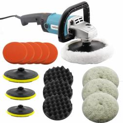 Electric Car Polisher Buffier Sander Waxer Kit Variable 6-Sp