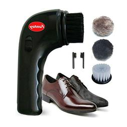 Electric Shoe Shine Kit,Funtoy Electric Shoe Polisher Brush