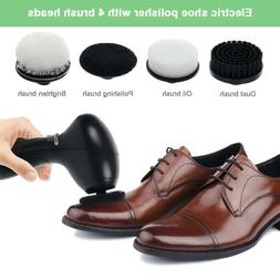 Electric Shine Shoe Polisher Brush Cleaner Machine Cleaning