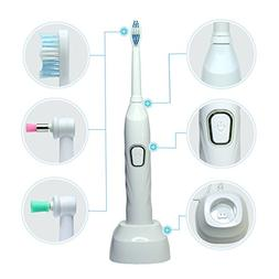 Electric Toothbrush and Teeth Whitening Polisher with High F
