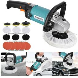 "New 7"" Electric Variable Speed Car Polisher Buffer Waxer San"