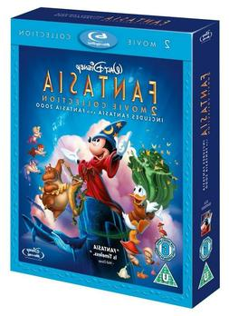 FANTASIA + FANTASIA 2000 2-Movie Collection BRAND NEW BLU-RA