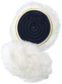 """3M Finesse-it Knit Buffing Pad 85078, Hook-and-Loop, 3"""" Diam"""