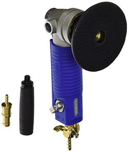 Gison GPW7 4-Inch Air Wet Stone Polisher 4500 Rpm with Front