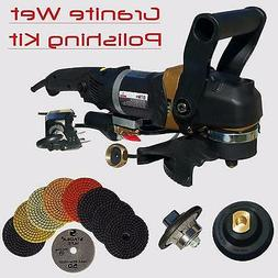 Stadea Granite Polishing Bullnose Tools Kit for Granite Coun