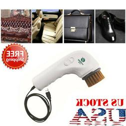 Handheld Mini Electric Shoe Polisher Brush Car Interior Clea