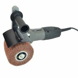 hb-5800 hand held angle burnished stainless steel polisher