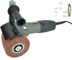 Hardin Hb-5800 Hand Held Angle Burnished Stainless Steel Pol