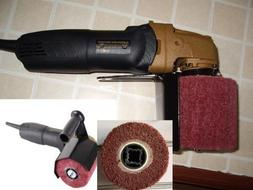 HB-5800A  Hand Held Angle Burnished Stainless Steel Polisher