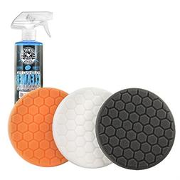 "Chemical Guys HEX_3KIT_5 5.5"" Buffing Pad Sampler Kit , 16 f"