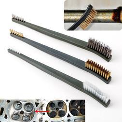 Household Metal Nylon Double-end Wire Brush Polishing Steel