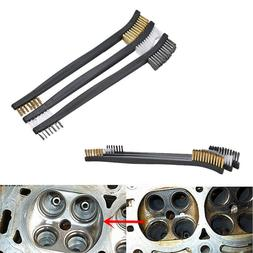 Household Mini Double-end Metal Wire Brush Rust Cleaning Ste