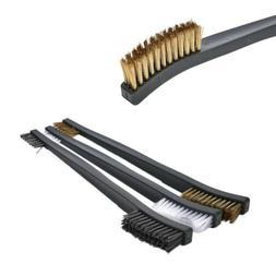 Household Nylon Double-end Metal Steel Brass Wire Brush Poli