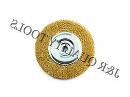 inch round wire brush wheel