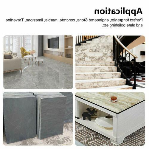10pcs Dry Polishing Inch Set Kit Concrete
