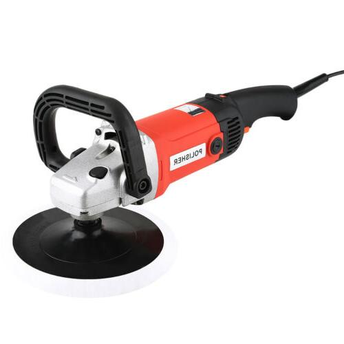 "New 7"" 6 Polisher Buffer Sander"