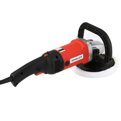 "New 7"" 6 Variable Speed Polisher Waxer Sander"