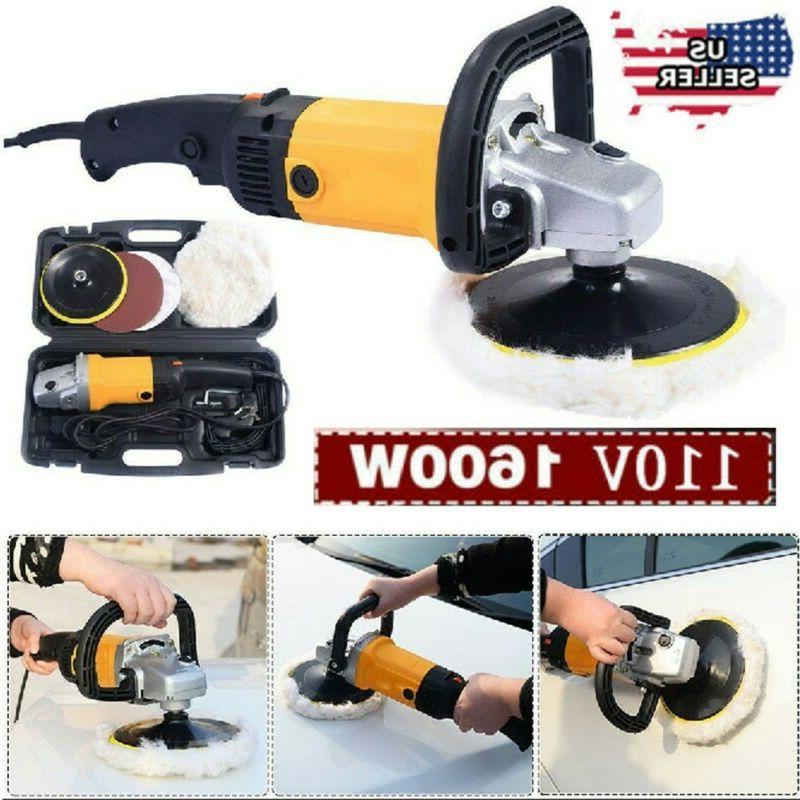1600W Auto Paint Polisher/Buffer Waxer Electric 6 US