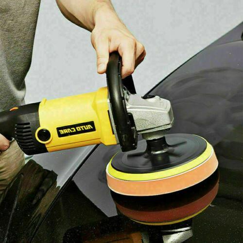 19PCS Polisher Buffer Variable 6 Polishing Buffing