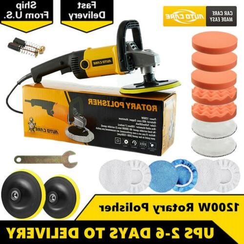 19pcs car polisher sander buffer variable 6