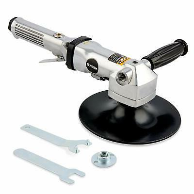 "7/"" Stainless Pneumatic Air Angle Polisher Buffer Variable Speed 1,500-2,600 RPM"