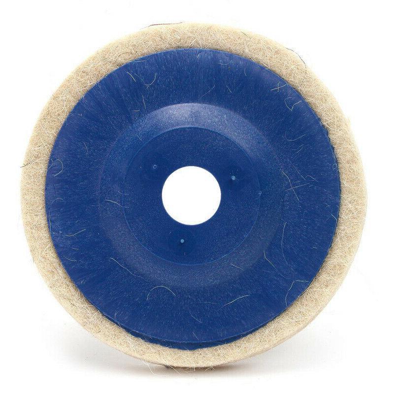 3pcs 100mm Wool Wheel Pad