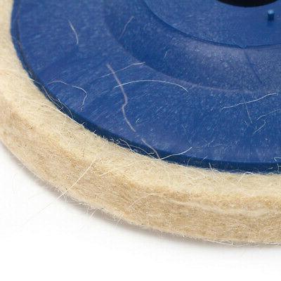 3pcs 4 Wool Buffing Angle Wheel Polishing