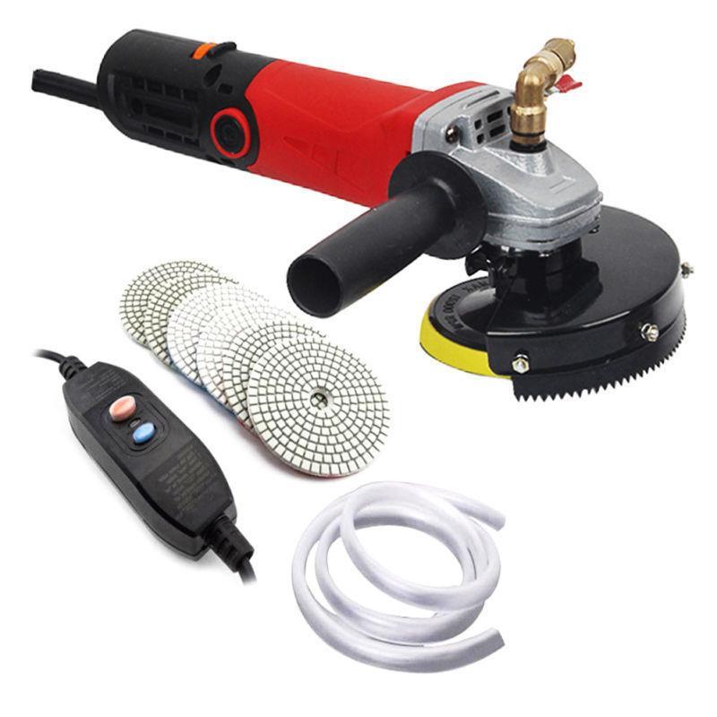 4 variable speed wet polisher grinder polishing