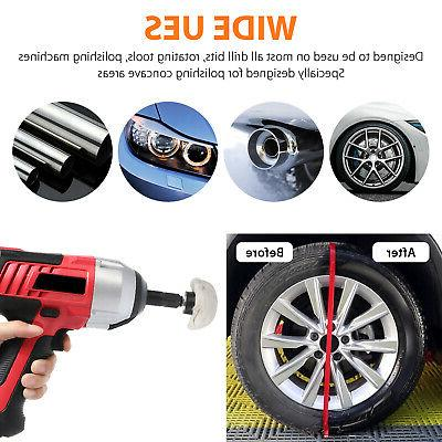 4Pcs Polishing Buffing Car For Drill