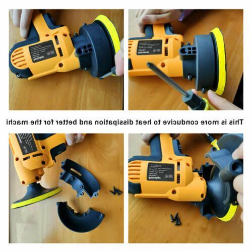 """5"""" 600W Buffer Polishing Waxing Tool Bonnet"""