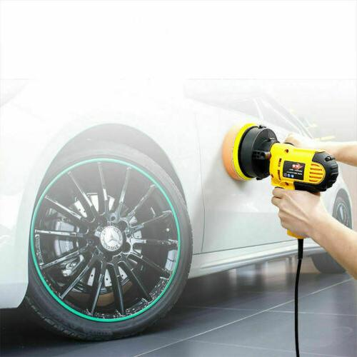 """5"""" 600W Car Buffer Kit Waxing Tool Buffing Bonnet"""