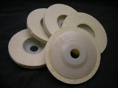 5 pieces 4 4 inch round polishing