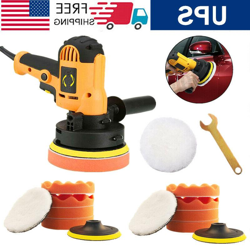 5 portable car polisher kit sander buffer