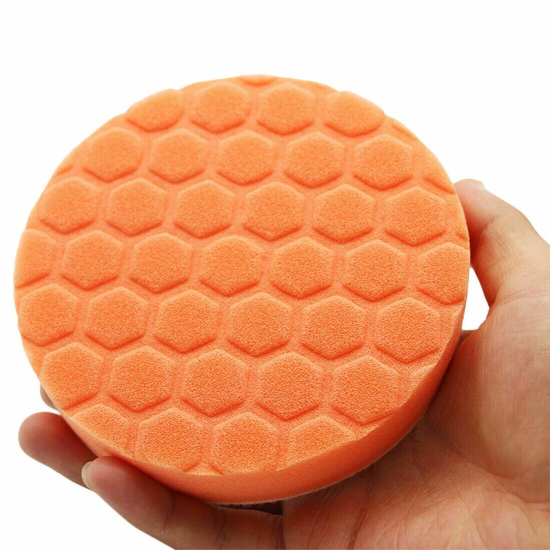 5PCs Polishing Foam Pads Disc Wax Set